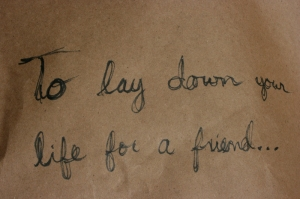 to-lay-down-life-for-friend