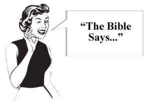 Bible interpreted in a way that hurt you copy